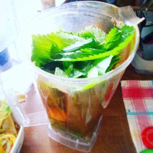 Mehr Wohlbefinden, Gesundheit – mehr Grün! Einfaches, leckeres Rezept für (fast) umsonst und draußen.